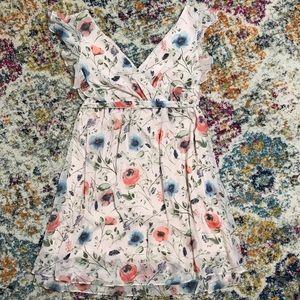 Jessica Simpson Maternity Chiffon Floral Dress